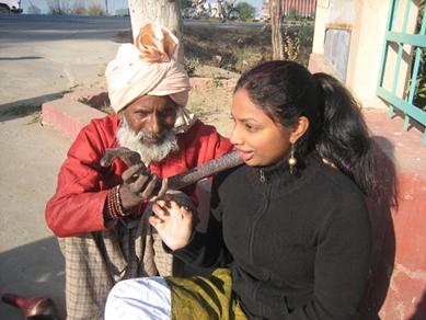 Sangita & Snake Charmer